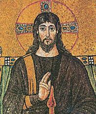 ישו - פסיפס ברוונה