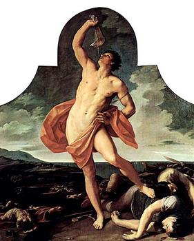 שמשון מכה בלחי החמור