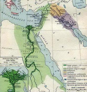 מצרים והמרחב בעת העתיקה