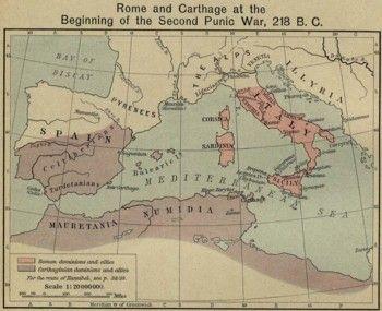 האימפריה הרומית והקרתגנית