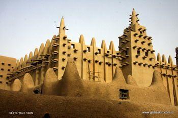 מסגד הבוץ הגדול בעולם