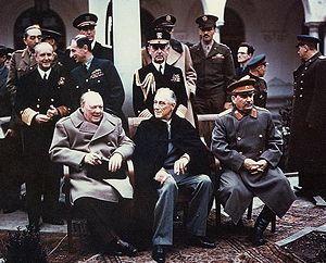 ועידת יאלטה: צצצצצצצצ'רצ'יל, רוזוולט וסטלין