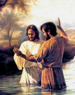יוחנן המטביל מטביל את ישו