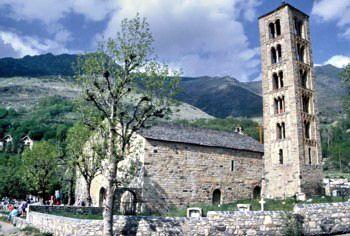 מנזר טהול בפירינאים הקטלונים