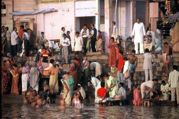 טבילה בגנגס