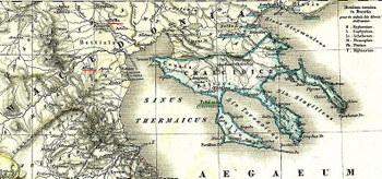 מפת מקדוניה בעת העתיקה
