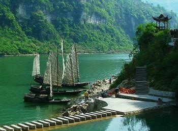 יאנגצה - הנהר הכחול