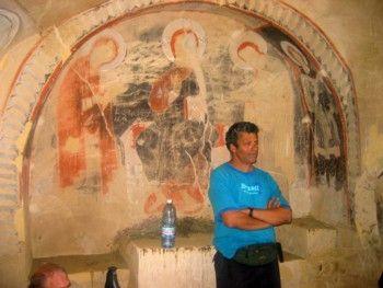 פרסקות במערות דויד גרשה