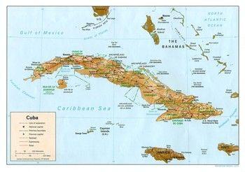 מפת קובה