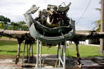 שרידי מטוס אמריקאי