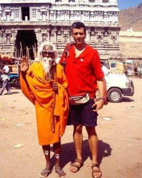 גילי במהלך מעצר הבית בהודו