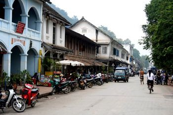 הרחוב הראשי בלואנג פרבאנג