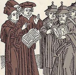 הוויכוח בין הפרנקיסטים לרבנים
