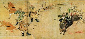 הקרב בין היפנים למונגולים