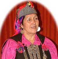 Juana Calfunao, Mapuche chief