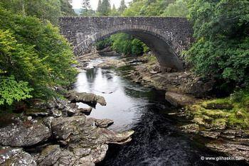 באזור האגמים של סקוטלנד