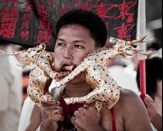 פסטבל הצימחונים בפוקהט, תאילנד