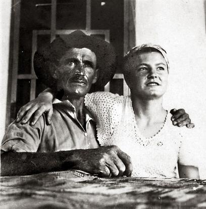 אלכסנדר זייד ובתו כוכבת