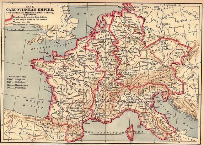 האימפריה הקרולינגית