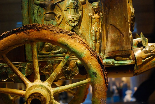 טיול לאיטליה - מרכבת מוות אטרוסקית