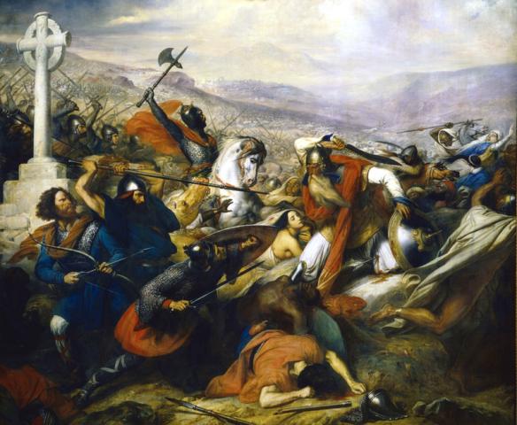 קרב פואטייה. באדיבות Wikipedia
