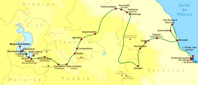 טיול למקסיקו - מסע קורטז
