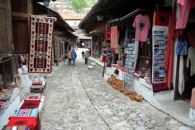 טיול לאלבניה - מצודת קוריה