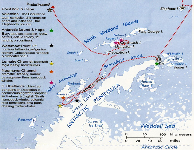 חצי האי האנטארקטי