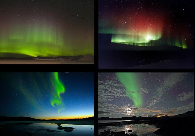 טיול לאנטארקטיקה - הזוהר הדרומי