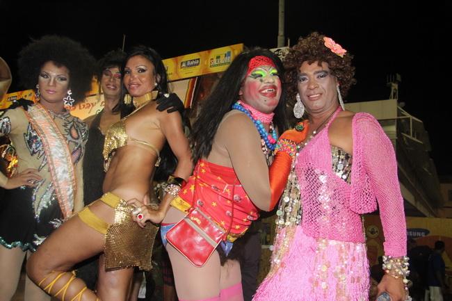 מצעד הומוסקסואילים בעיר העתיקה של סלבדור, בהיה. צילום: גילי חסקין