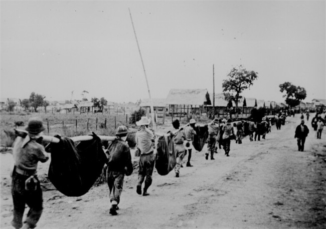 מצעד המוות של באטאאן. באדיבות Wikipedia