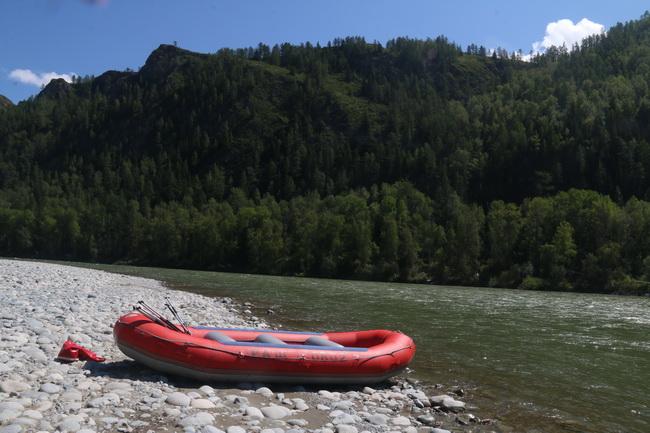 ראפטינג בנהר קאטון. צילום: גילי חסקין