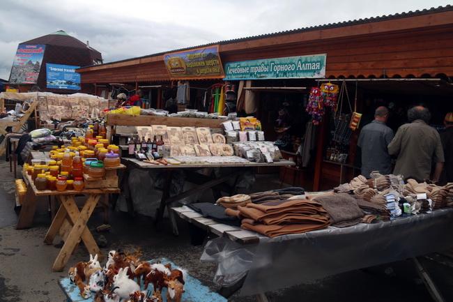 שוק באזור אלטאי. צילום: גילי חסקין