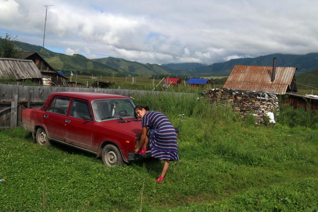 בכפר טונגור. צילום: גילי חסקין