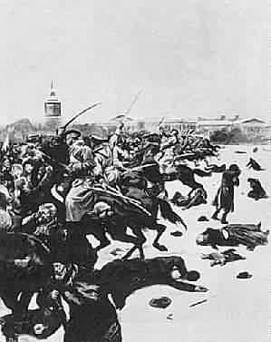 יום ראשון העקוב מדם-מהפכת 1905