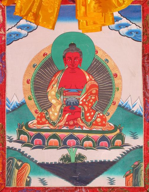 בודהא אמיטבהא. באדיבות Wikipedia