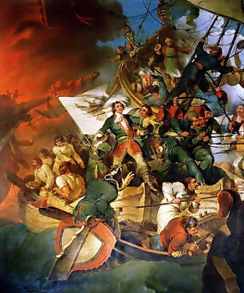 פטר הגדול, הקרב על ים אזוב