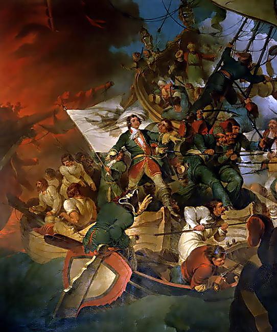 כיבוש אזוב על ידי פטר הגדול ב-1696