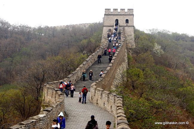 החומה סינית בבאדלינג. צילום: גילי חסקין