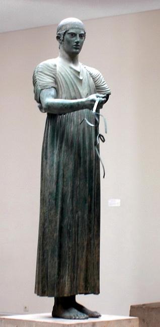 הרכב מדלפי. מוזיאון דלפי. באדיבות ויקיפדיה