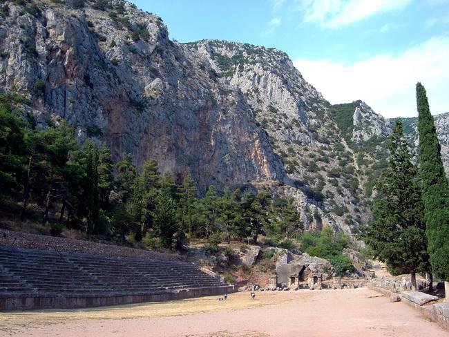 האצטדיון של דלפי. באדיבות ויקיפדיה