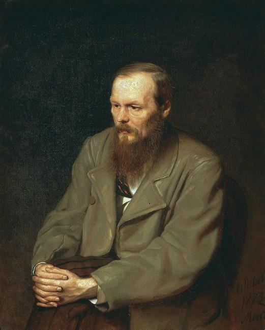 דיוקנו של דוסטויבסקי מאת וסילי פרוב 1872