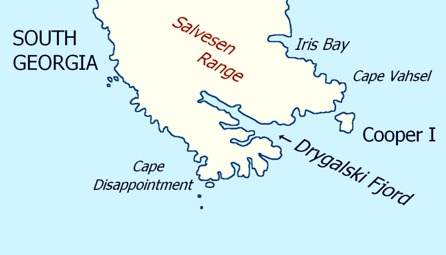 Drygalski-Fjord-Map