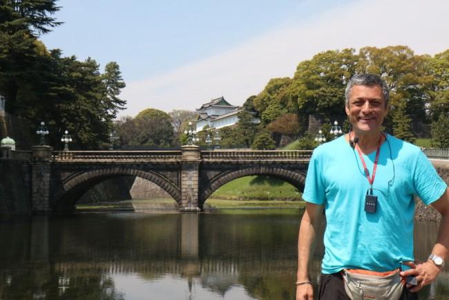 גילי חסקין, מול ארמון הקיסר, טוקיו