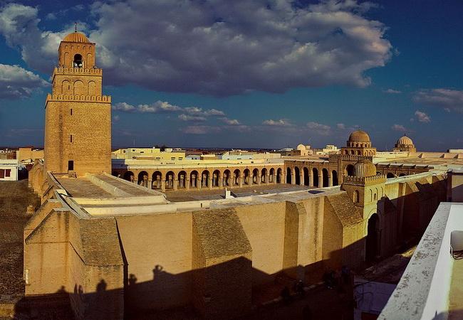 מסגד קיירואן. באדיבות ויקיפדיה