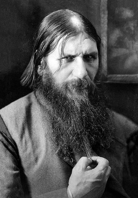 גרגורי רספוטין בשנת הירצחו (1916)-באדיבות ויקיפדיה