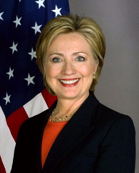 הילארי קלינטון, בעת שהיתה מזכירת המדינה של ארצות הברית. באדיבות Wikipedia