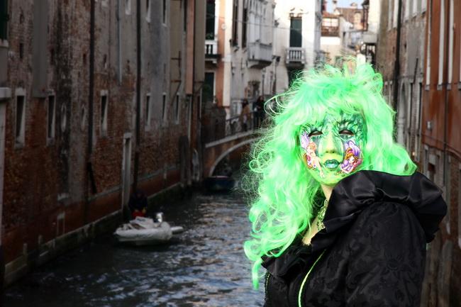 קרנבל המסיכות של ונציה. צילום: גילי חסקין
