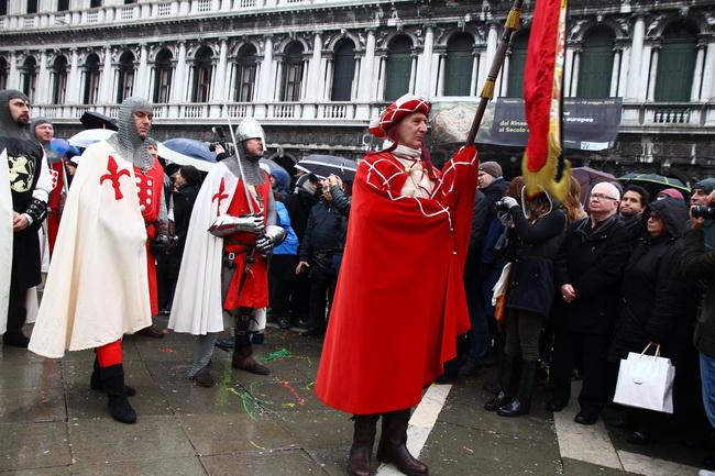 הקרנבל בוונציה. צילום: גיי חסקין