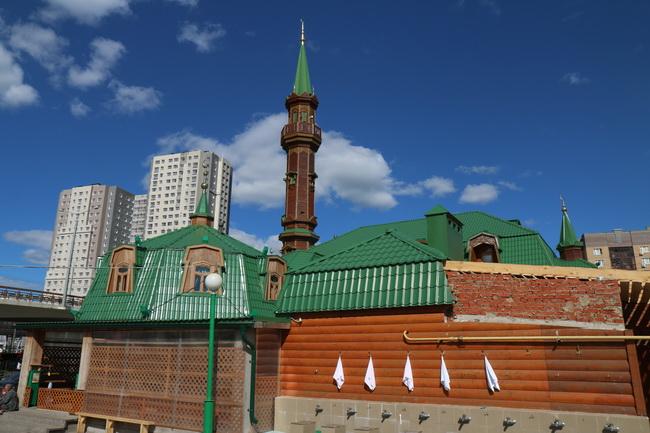 מסגד חדש בקזאן. צילם: גילי חסקין
